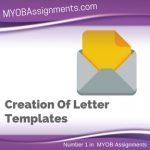 Creation Of Letter Templates