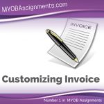 Customizing Invoice