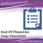 End Of Financial Year Checklist