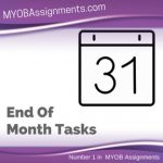 End Of Month Tasks