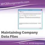 Maintaining Company Data Files