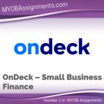 OnDeck – Small Business Finance