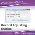 Record Adjusting Entries