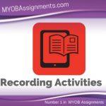 Recording Activities