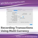 Recording Transactions Using Multi Currency
