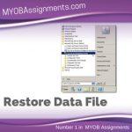 Restore Data File