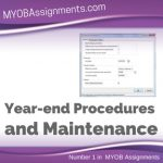 Year-end Procedures and Maintenance